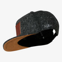 Nebelkind Provocateur Snapback in gray melange