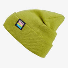 "Nebelkind Beanie ""Kind"" in green"