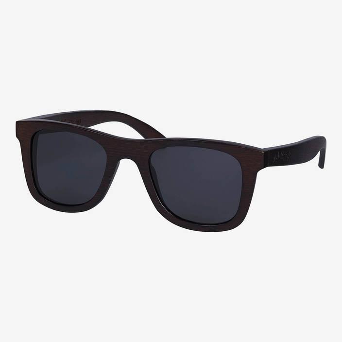 Nebelkind Bamboobastic Dunkelbraun Sonnenbrille in dunkelbraun gebeizt