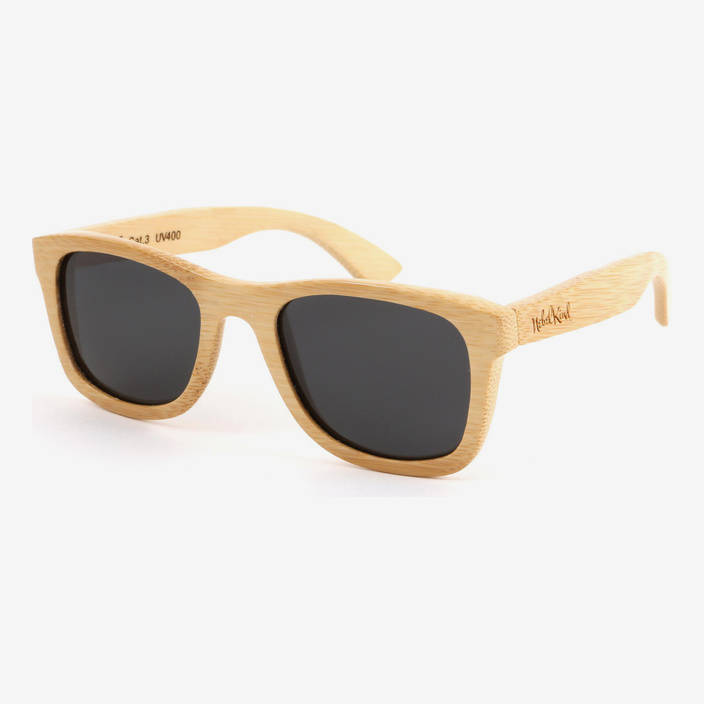 Nebelkind Bamboobastic nature Sunglasses FSC®-certified in Natural-colored bamboo