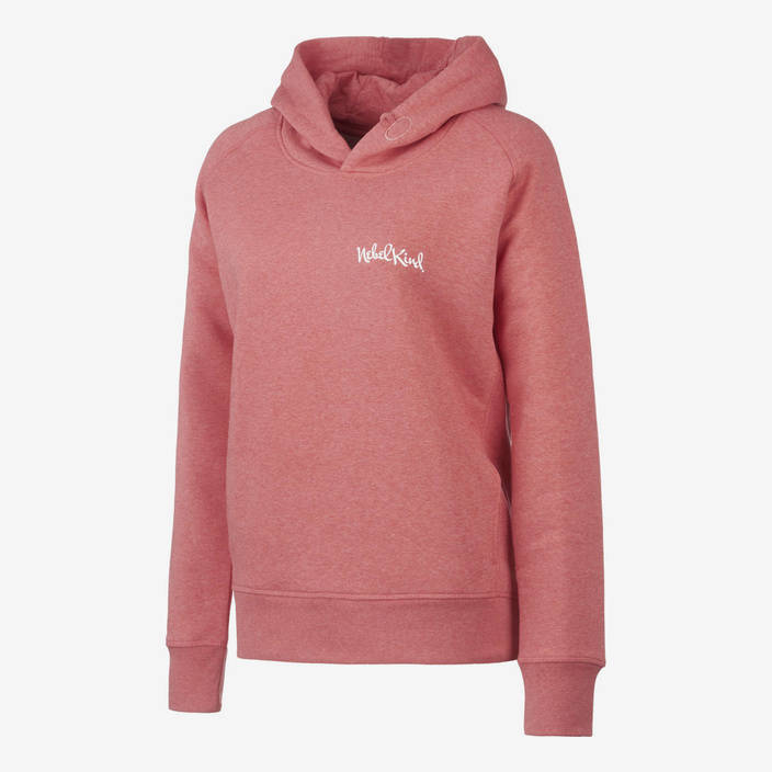 Nebelkind Hoodie Pastel Red Women in pastel red