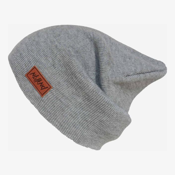 Nebelkind Classy Beanie Grey in gray