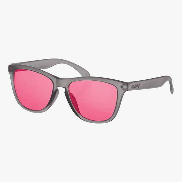 Nebelkind Suntastic Smoke Grey (rot verspiegelt) Sonnenbrille in grau