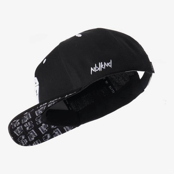 Nebelkind Anstandslos & Durchgeknallt Snapback in schwarz