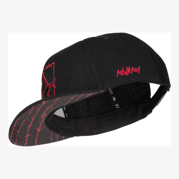 Nebelkind Barbed Wire 2 Snapback in black