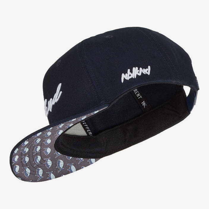 Nebelkind Ocean Snapback in dark blue