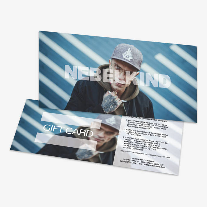Nebelkind Gift Card Blue in blue