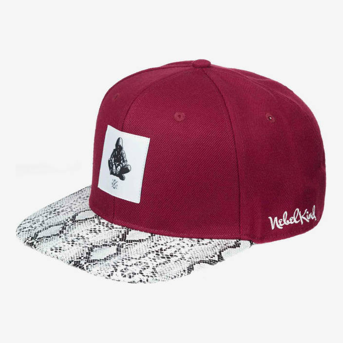 Nebelkind Nebelkind Snapback in bordeaux