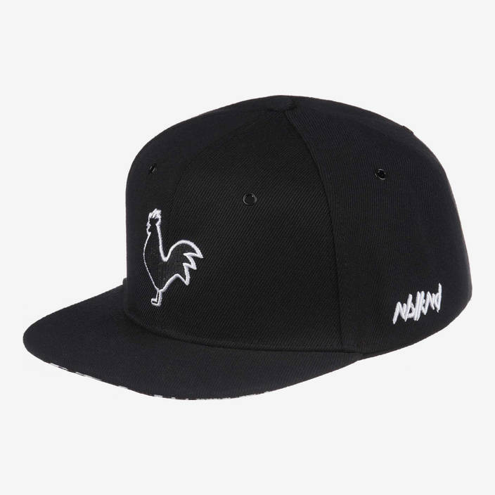 Nebelkind The Cock Snapback in black