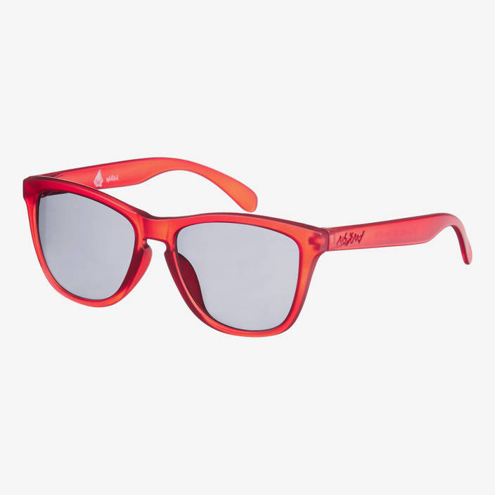 Nebelkind Suntastic Smoke Red Sunglasses in gray