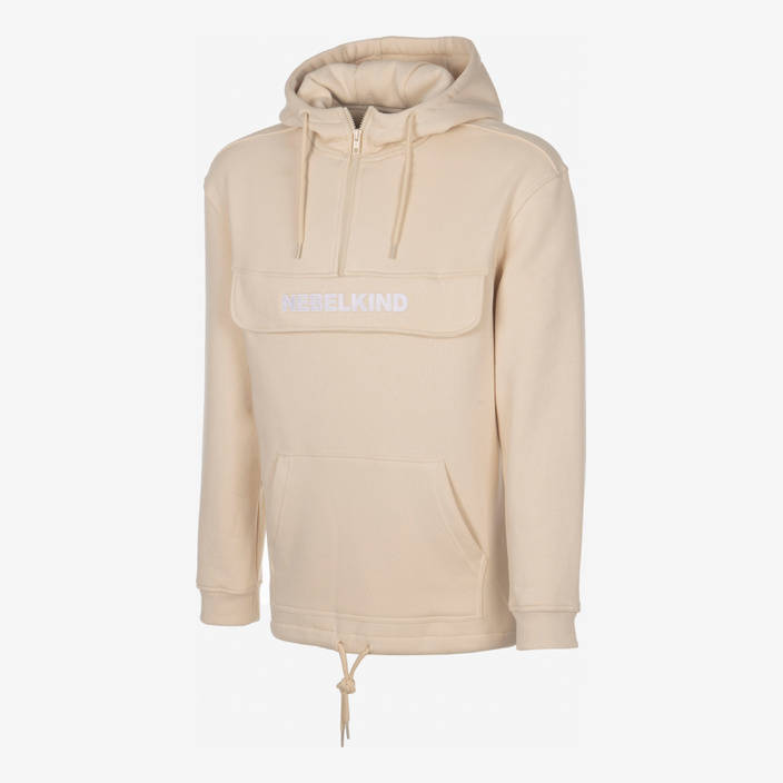 "Nebelkind Hoody ""No Design"" Sand in sand"