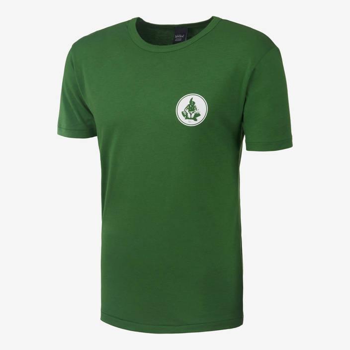 Nebelkind Basic Bamboo Shirt Male Green in green