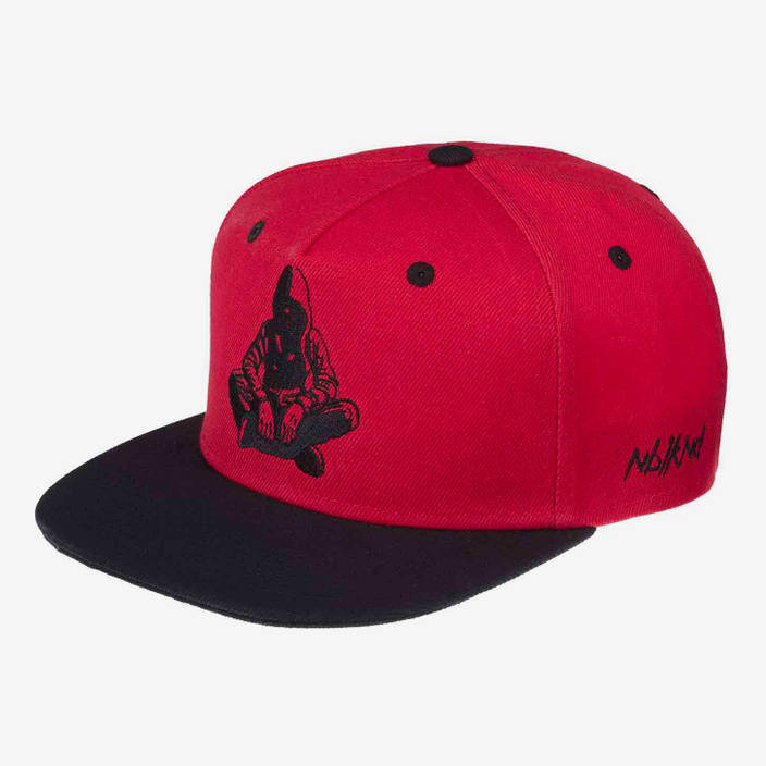 Nebelkind Lucifer Snapback in red