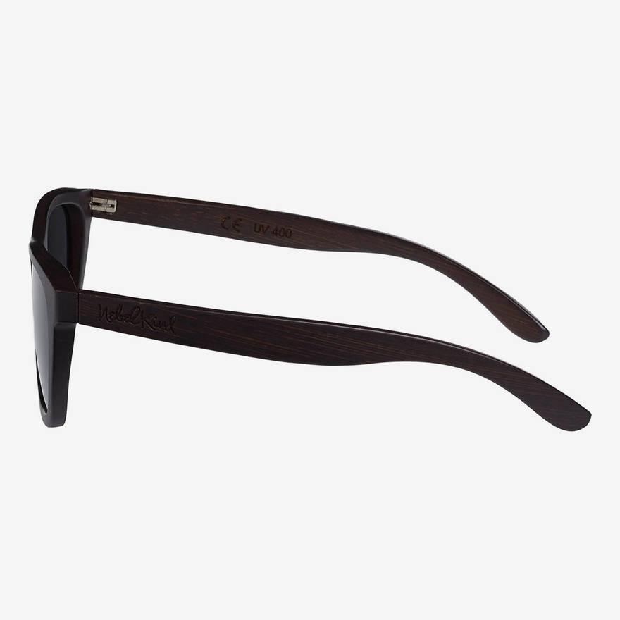 Nebelkind Bamboobastic darkbrown Sunglasses in Stained dark brown