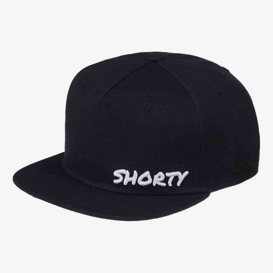 Nebelkind Shorty Snapback in black