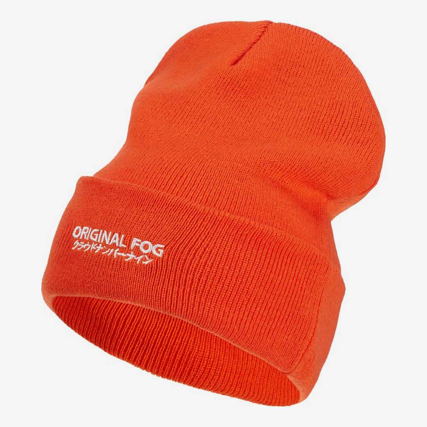 """Nebelkind Beanie """"Oranch"""" in orange"""
