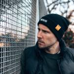 "Nebelkind Beanie ""Pulp"" in black"