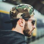 Nebelkind Camouflage Snapback in camouflage