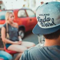 Nebelkind TheWeird Snapback in gray