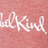 Nebelkind Hoodie Pastel Red Women in pastel red