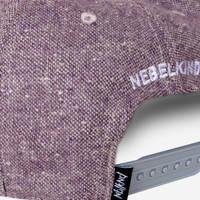 Nebelkind Pink Beast Snapback in berry color