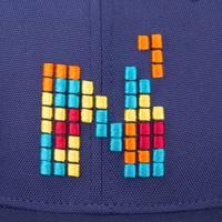 Nebelkind Pixel II Snapback in dark blue