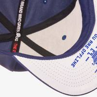 Nebelkind Pixel II Snapback in dark blue
