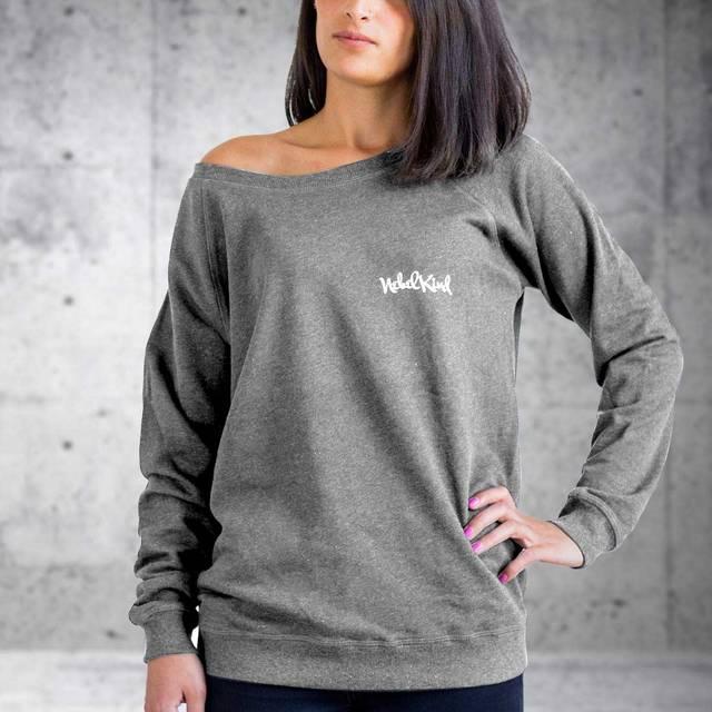 Nebelkind Raglan Sweater Anthrazit Frauen in anthrazit