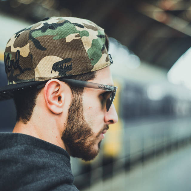 Nebelkind Camouflage Snapback in camouflage