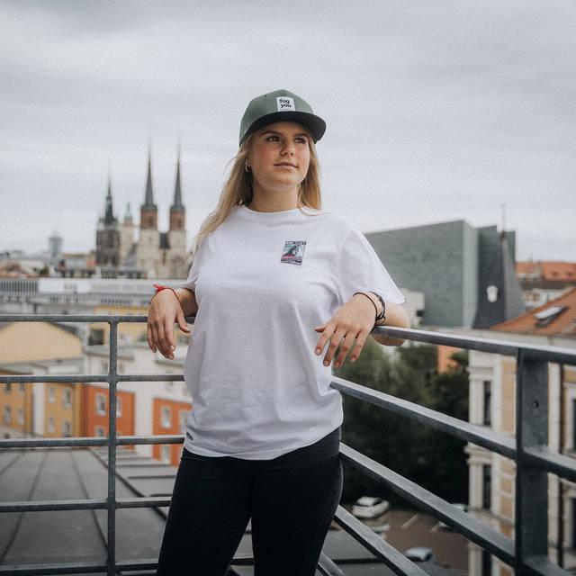 """Nebelkind Shirt """"Matchbox Navycut"""" Frauen in weiß"""