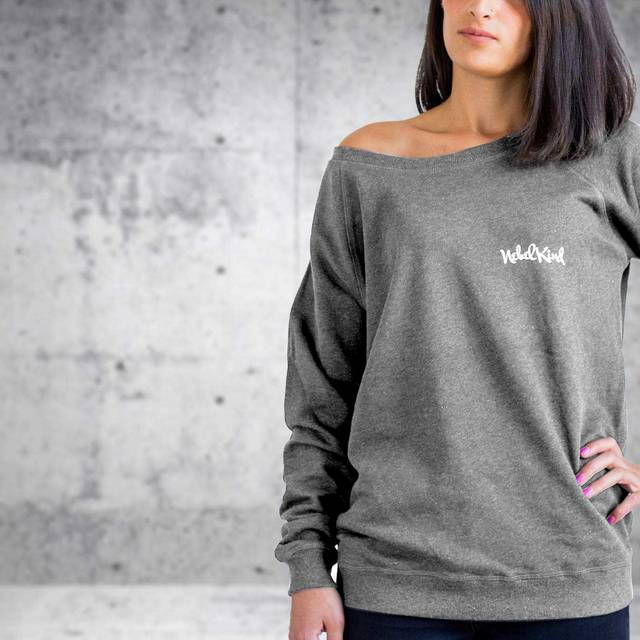 Nebelkind Raglan Sweater Female Anthracite in anthracite