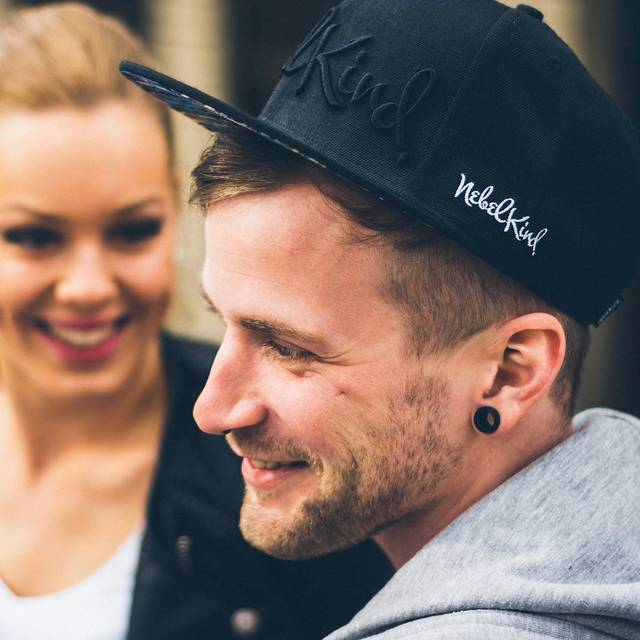 Nebelkind Rec. Snapback in black