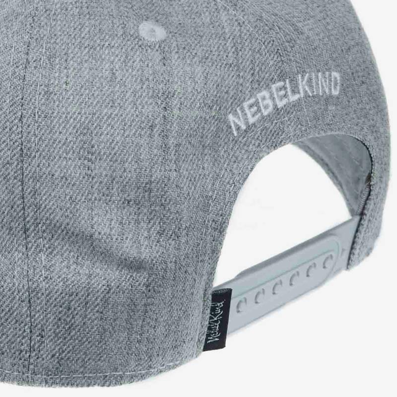 Nebelkind Berlin Snapback in gray