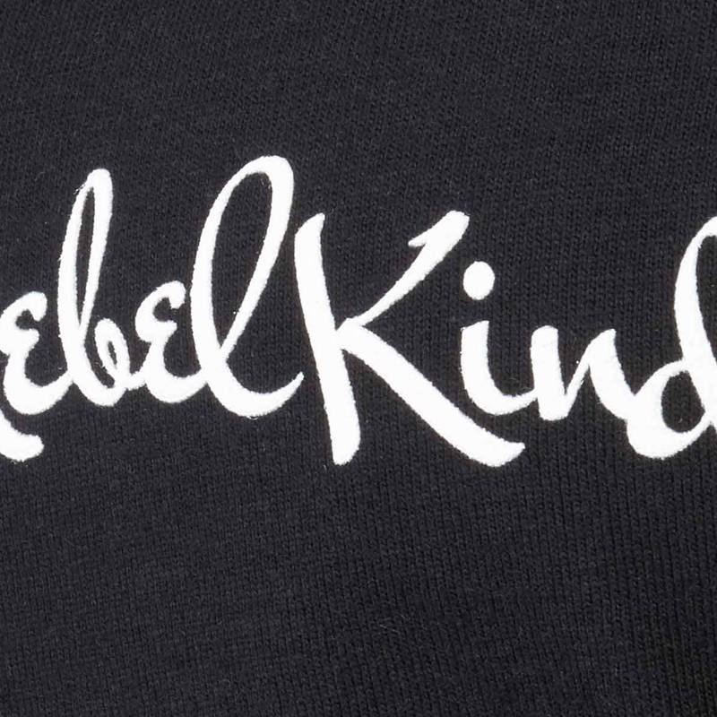 Nebelkind Basic Rolled Sleeve Shirt Female Black in black