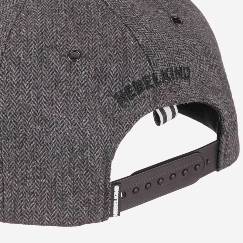 Nebelkind Bandana Snapback in gray melange